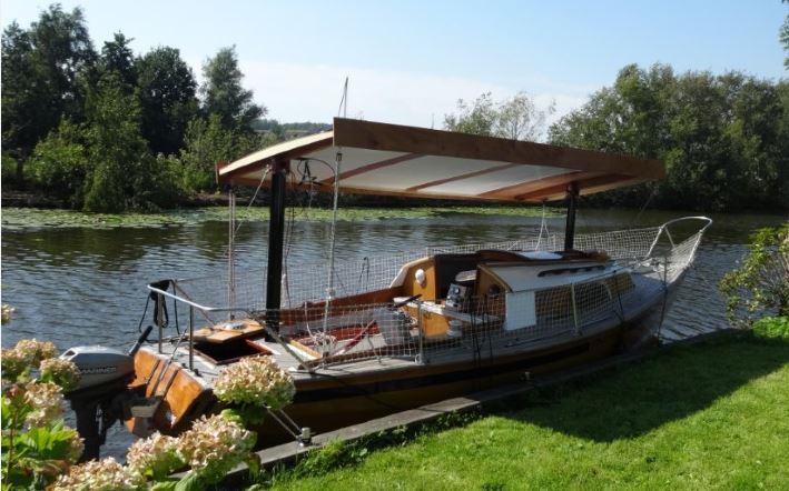 Boot met zonnepanelen, Zonneboot, Zonvaren