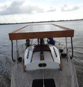 Waarschip - Elektrisch varen - Zonvaren - zonneboot